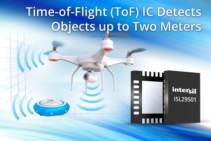 Intersil突破性的飞行时间信号处理IC为目标物检测与距离测量带来革命性改变