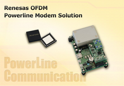 瑞萨发布支持世界各国电力线通信标准的PLC用IC