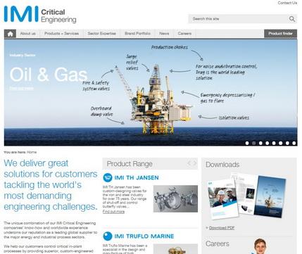 IMI关键流体技术推出全新改版网站