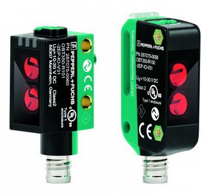 倍加福新推出R100和R101系列光电传感器