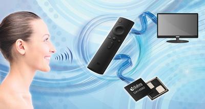Dialog公司的智能蓝牙SoC应用于小米的创新语音遥控器