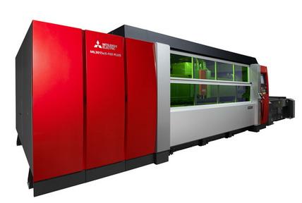 三菱电机推出新款光纤激光加工机 配备6kW激光器使加工速度提高至1.4倍