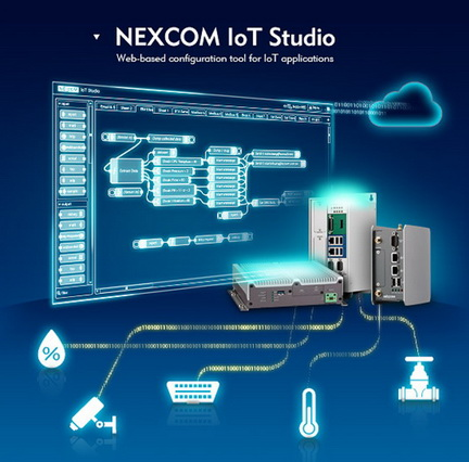 新汉免费开放NEXCOM IoT Studio联网软件工具下载 简化编程开发、加速物联网创新
