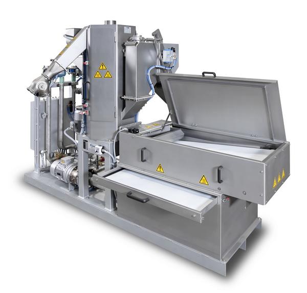 应用广泛的水下造粒机带式过滤系统,可自动去除粉末并将过滤效率提升25%