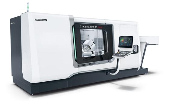 德马吉森精机CTX beta 1250 TC全球首次亮相