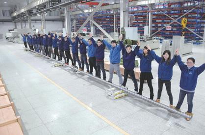 南京工艺装备制造有限公司加工出18.8米超长丝杠副