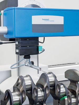 Jenoptik Hommel-Etamic Wavemove CNC测量站可同时测量表面光洁度和轮廓