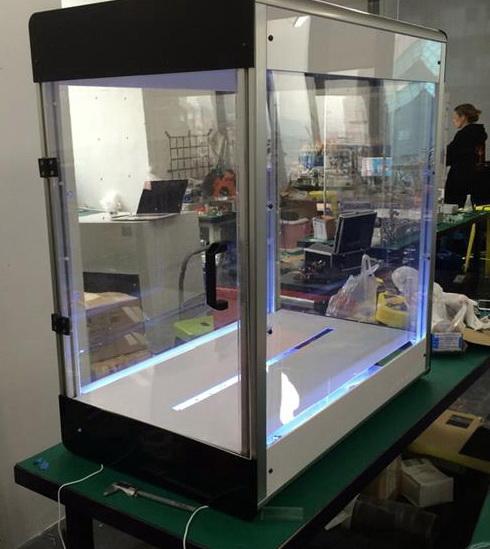 世界首台可打印服装的纤维3D打印机Electroloom