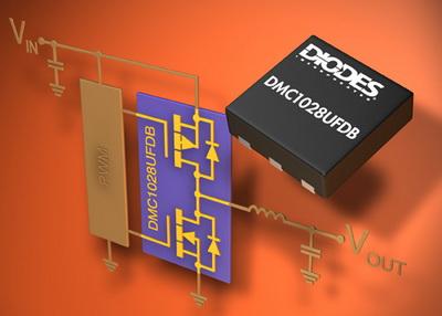 Diodes上市高密度DC-DC转换器用MOSFET模块