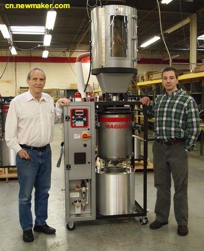 美奎使用称重传感器提高MAGUIRE® VBD™真空干燥机的精确度