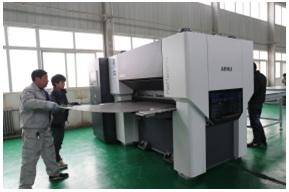 阿库FlatMaster®55165型精密矫平机助北京优视一臂之力