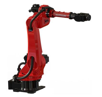 新松展出数字化智能激光焊接机器人