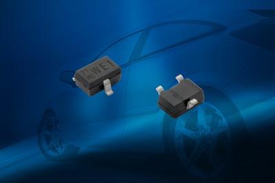 Vishay新款BiSy单路和双路低电容ESD保护二极管可为汽车应用节省大量空间