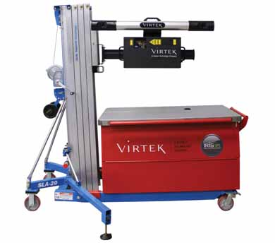 格柏科技新型Virtek多任务工作站提升新高度
