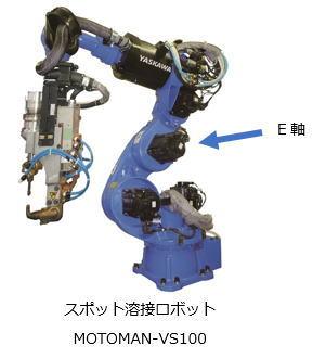 安川电机推出车身点焊专用7轴机器人MOTOMAN-VS100