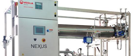 威立雅为制药行业提供水分配和消毒系统NEXUS