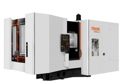 山崎马扎克发布50号主轴卧式加工中心HCN-5000/50