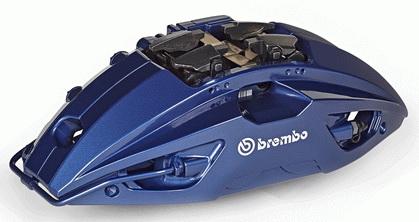 布雷博展出高档车用铝合金制动钳,总重量减轻8%