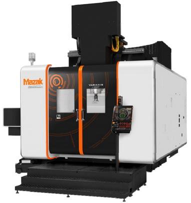山崎马扎克推出立式加工中心VARIAXIS i-1050T