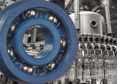 可与食品接触的轴承部件 - 易格斯免润滑轴承材料保证食品加工安全性