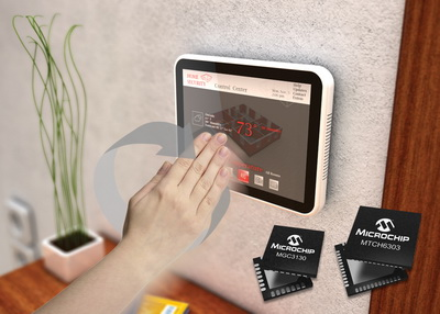 Microchip联手SiS推出业界首批针对显示应用、融合多点触控与3D手势技术的模块