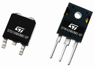 大联大友尚集团推出ST新款高性能功率MOSFET 600V MDmesh M2 EP