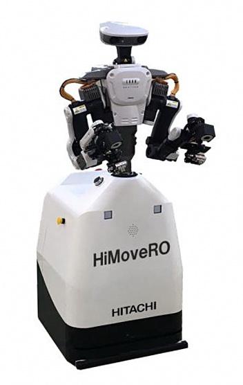 日立推出用于工业机器人的自走式搬运车HiMoveRO