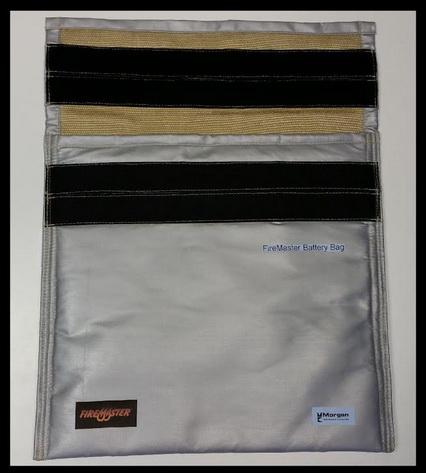 摩根推出隔热袋以应对锂电池起火风险