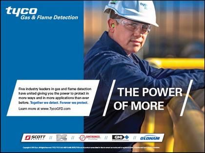 Tyco发布新的气体火焰检测品牌