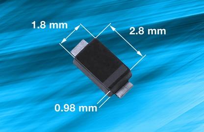 Vishay 推出适用于便携式电子产品的,可抵御400W浪涌的新款TVS保护二极管