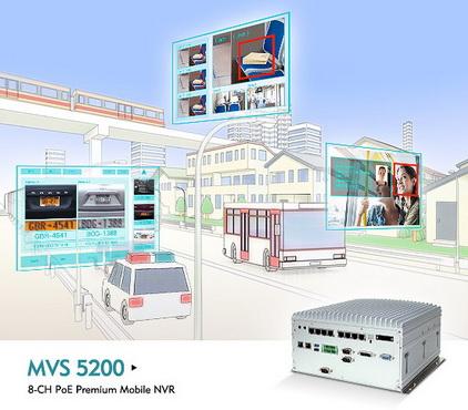 新汉MVS 5200 模块化车载系统助力智能公共交通监控