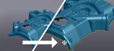 Creaform最新版VXmodel扫描至CAD软件为设计流程赋予强大的功能性和易用性