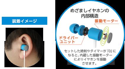 日本企业将上市内置振动马达的闹钟耳机