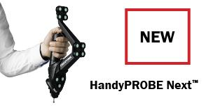 CREAFORM推出专为应对现代化车间的各种质量控制挑战而重新打造的全新便携式 HANDYPROBE NEXT