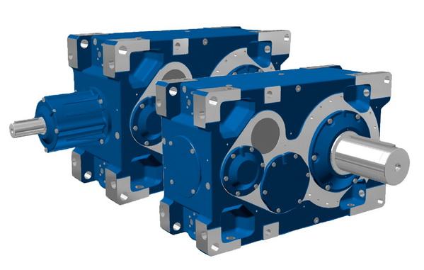 诺德推出输出扭矩达190 kNm的工业齿轮箱