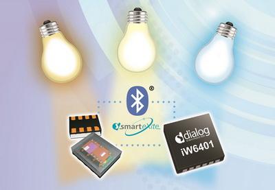 Dialog为无线智能照明平台新增环境光及色彩感测能力