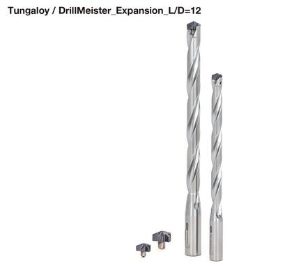 泰珂洛发布深孔加工钻头新产品DrillMeister,钻尖易更换