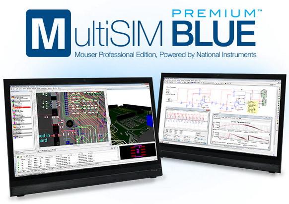 贸泽电子推出 MultiSIM BLUE Premium