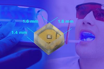 Vishay采用小尺寸封装的365nm波长的中功率UV LED具有超长使用寿命