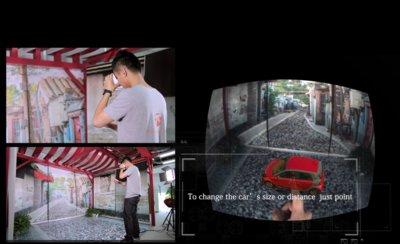 uSens凌感首发汽车行业AR VR追踪解决方案