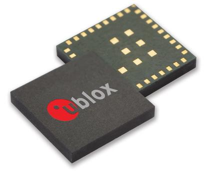 u-blox发表专为资产追踪应用所设计的微型GNSS接收器