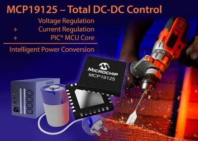 Microchip发布全新数字增强型电源模拟控制器 全面提升电池充电及DC-DC转换应用的数字支持功能