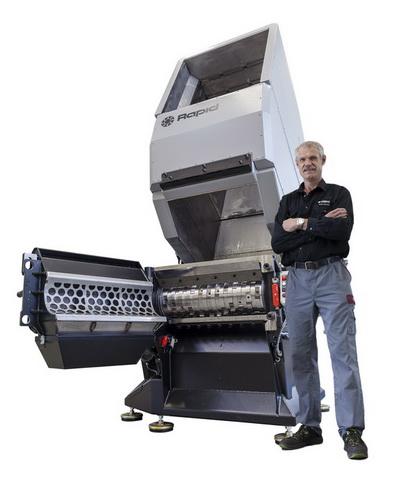 乐必得推出下一代塑料粉碎机 - 猛龙系列