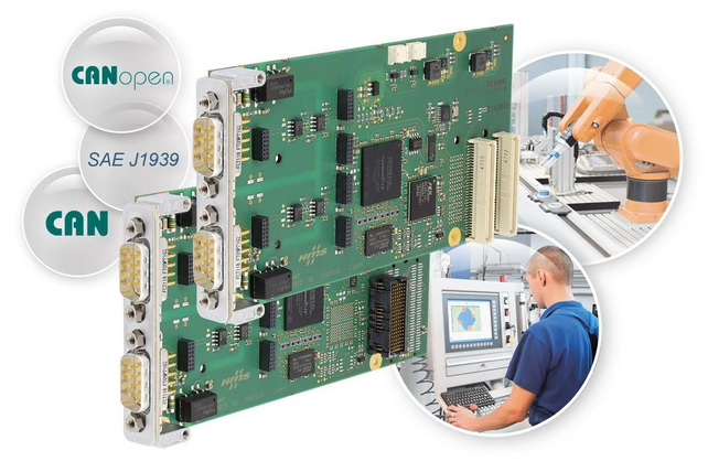 HMS Industrial Networks AB, 新的针对XMC和PMC的IXXAT®CAN卡实现PC与CAN的通信