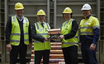 必和必拓Olympic Dam铜矿通过堆浸技术产出首批阴极铜
