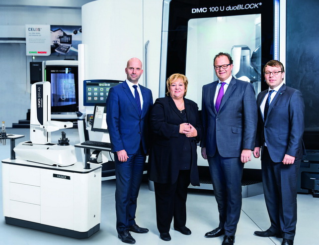 HAIMER翰默成为DMG MORI德马吉森精机的高级合作伙伴,并收购Microset GmbH 对刀仪股份有限公司