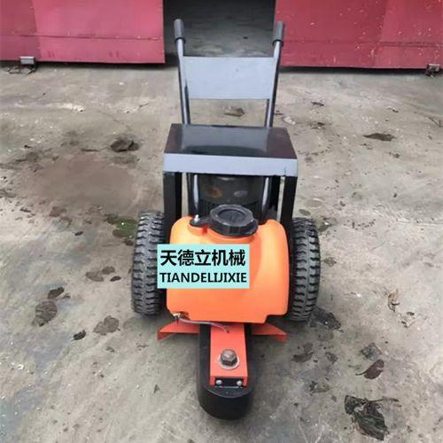 手推式切桩机 割桩机 水泥桩切割机