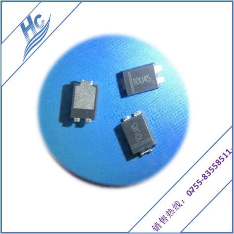 现货供应智能手机充电器专业贴片超薄型肖特基二极管 10U45