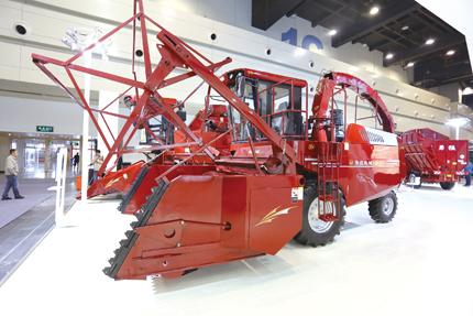 勇猛机械亮相全国农业机械及零部件展览会