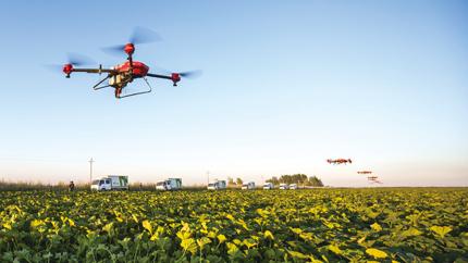 """看好智能农业""""极飞科技""""发力无人植保"""
